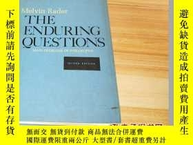 二手書博民逛書店THE罕見ENDURING QUESTIONS【外文原版書,書品