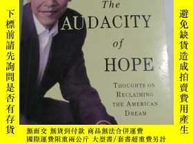 二手書博民逛書店無畏的希望罕見英文版 THE AUDACITY OF HOPEY