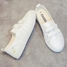 夏季透氣新款淺口小白鞋一腳蹬懶人女鞋百搭平底薄款半托單鞋 雙12購物節