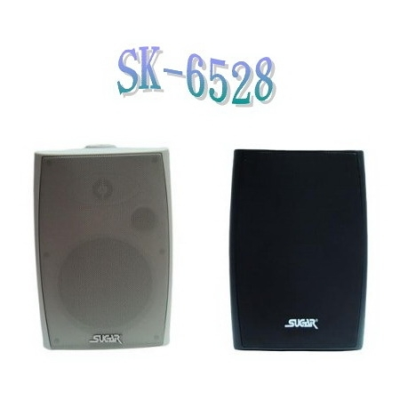 SUGAR SK-6528 懸吊壁掛桌上多方位專業歌唱喇叭 黑/白色