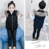 女童背心 女童羽絨棉馬甲新款韓版兒童冬季外穿加厚棉馬甲背心外套OB1618『易購3c館』