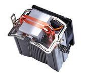 超頻3散熱器 cpu熱管 AMD側吹風扇1150通用 挪威森林