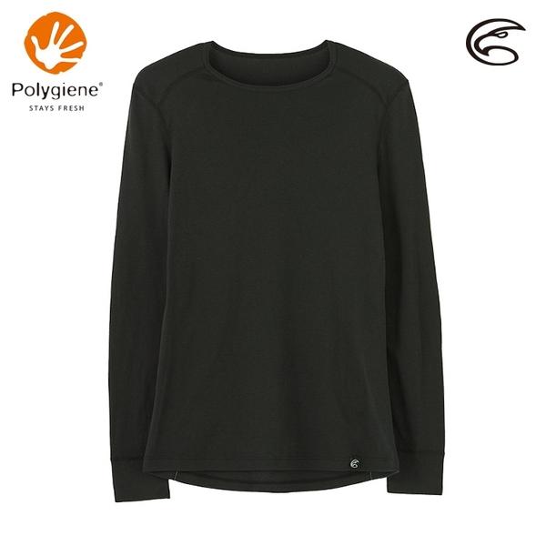 ADISI 女圓領抑菌消臭抗靜電保暖衣 AU2021004 (XS-XL) / 城市綠洲 (刷毛 抗起球 發熱衣)
