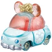 迪士尼夢幻珠寶小汽車 粉鑽蝴蝶結小車 小美人魚