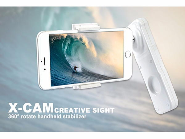 呈現攝影-銳拍 X-CAM SIGHT2 智能2軸手機穩定器 簡易型 藍牙 電動手持雲台