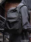 雙肩包男士時尚潮流學生書包簡約休閒包個性旅行背包韓版新款-Ifashion