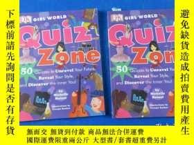 二手書博民逛書店GIRL罕見WORLD Quiz ZoneY23809