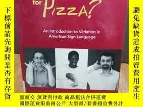 二手書博民逛書店What s罕見Your Sign for Pizza?: An