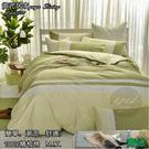 【床包+兩用被】★精梳棉四件式★5尺 /大膽玩色系列/ 標準雙人 ☆青綠☆  MIT