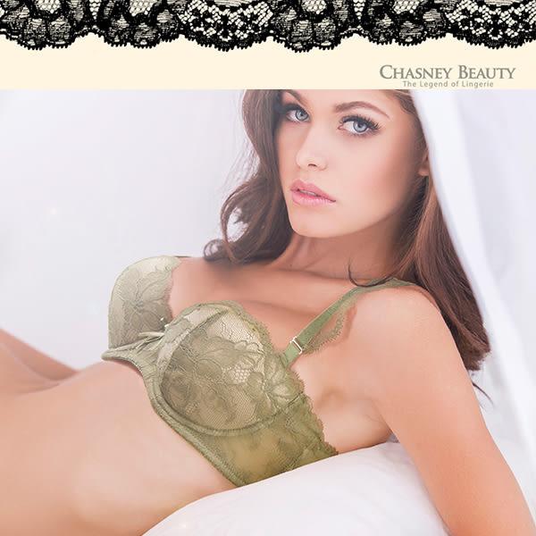 Chasney Beauty-雅典娜B-D蕾絲內衣(草綠)