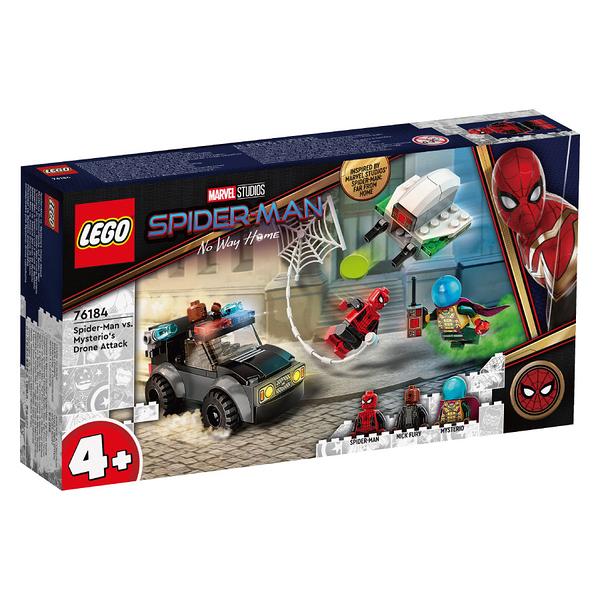 LEGO樂高 76184 Spider-Man vs. Mysterio's Drone Attack 玩具反斗城