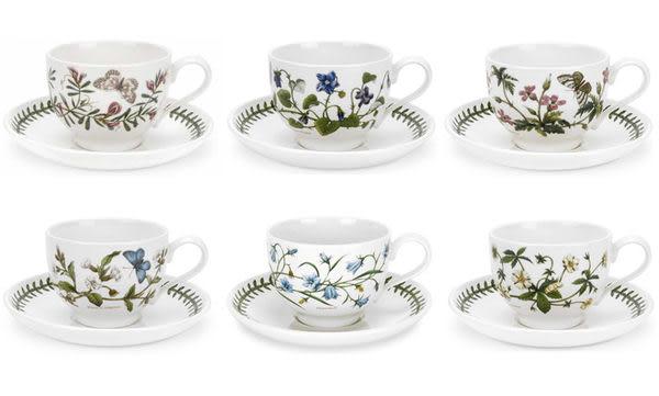 英國Botanic Garden植物園系列 - 花茶杯盤組(共六款花色)