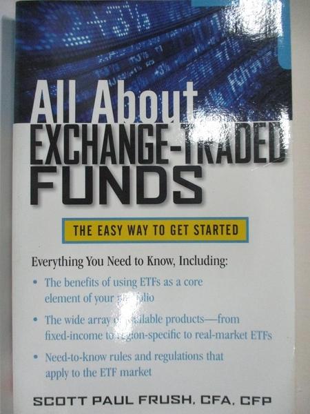【書寶二手書T6/原文小說_EK2】All About Exchange-Traded Funds: The Easy Way to Get Started_Frush, Scott Paul