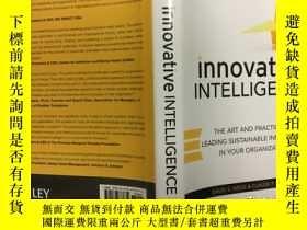 二手書博民逛書店Innovative罕見Intelligence: The Ar
