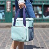飯盒袋飯盒包手提包手拎女包帆布保溫袋子鋁箔加厚媽咪帶飯便當包『夢娜麗莎精品館』