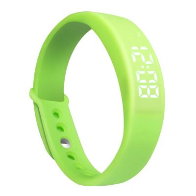 智能手環手錶智慧亮燈運動防水手環溫度檢測計步手環