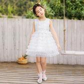 女童連身裙2019新款兒童春裝公主蓬蓬紗裙小女孩韓版春秋夏超洋氣