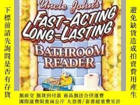 二手書博民逛書店Uncle罕見John s Fast-Acting, Long-Lasting Bathroom Reader