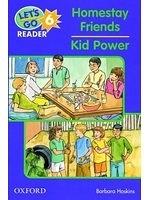 二手書博民逛書店《The Homestay Friends: Kid Power