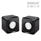 SANLUX台灣三洋2.0聲道USB方塊電腦喇叭 (SYSP-6711U)