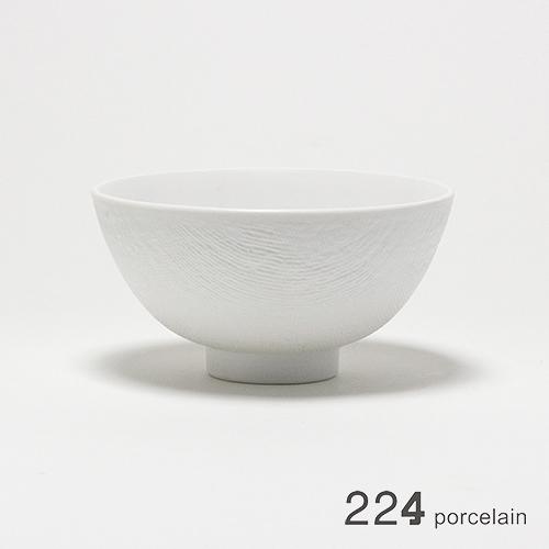 224 porcelain 布紋瓷碗