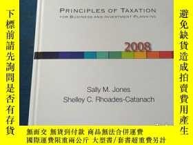 二手書博民逛書店PRINCIPLES罕見OF TAXATION FOR BUSINESS AND INVESTMENT PLANN
