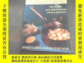 二手書博民逛書店10-minute罕見cuisine HENRIETTAGREE