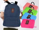 wei-ni多功能WeekEight可折疊兩用式後背包 旅行購物袋 輕巧收納大容量萬用包 旅行包 單肩包 雙肩包