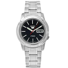 SEIKO黑色素面機械錶SNKE53K1 NES69