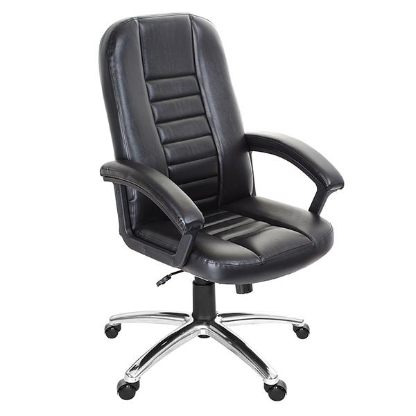 GXG 高背皮面 電腦椅 (鋁合金腳座) 型號1021 LU
