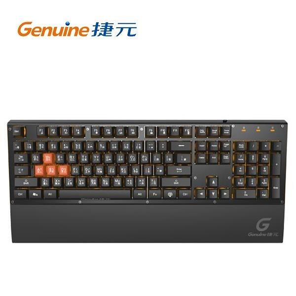 Genuine捷元 GGK-1000 電競機械薄膜鍵盤