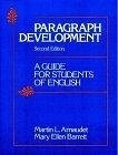 二手書博民逛書店 《Paragraph Development: A Guide for Students of English》 R2Y ISBN:0136485022│Arnaudet