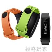 華為b3手環皮質表帶 青春版替換帶智慧手環腕帶運動商務版藍芽耳機帶穿戴手錶配件 極客玩家