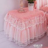 萱羽 韓版浪漫公主多功能蕾絲全包床頭櫃罩套蓋布蓋巾防塵罩臺布  9號潮人館