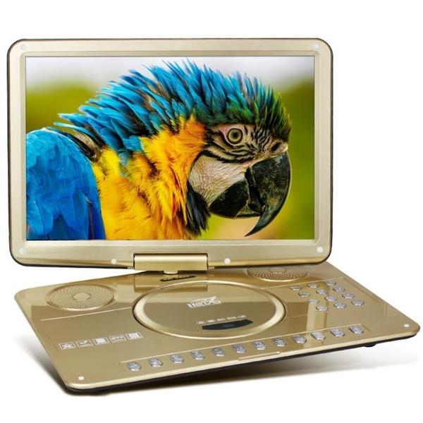 23吋高清行動DVD影碟機兒童學習光盤播放器便攜式帶電視【快速出貨】