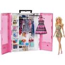 芭比閃亮造型衣櫃(含娃娃)...