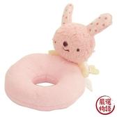 【日本製】【anano cafe】日本製 嬰幼兒手搖鈴玩偶 兔子 SD-2870 - 日本製
