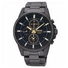 [萬年鐘錶] SEIKO 精工  時尚腕錶  計時 日期顯示 百米防水 SNAF07P1 (7T62-0LD0SD)