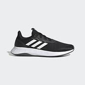 ADIDAS QT RACER 女款黑色輕量慢跑鞋-NO.FY5680