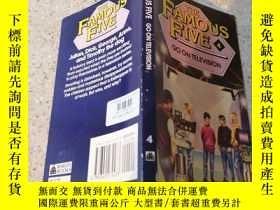 二手書博民逛書店famous罕見five go on television著名的五人上電視Y200392