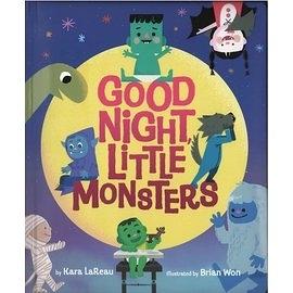【萬聖節】GOOD NIGHT LITTLE MONSTERS /硬頁書