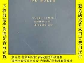 二手書博民逛書店AMERICAN罕見INK MAKER VOLUME FIFTEEN JANUARY 1937-DECEMBER