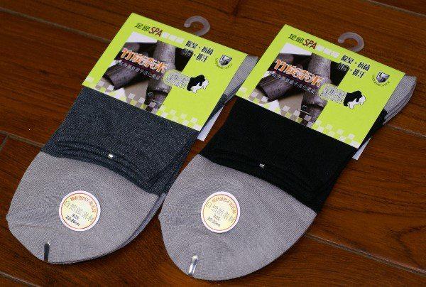 【衣襪酷】LIGHT&DARK 自然派素材 細針奈米竹炭1/2短襪 棉襪 學生襪 休閒襪