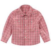 長袖襯衫 小童/大童 DaveBella 長袖襯衫 / 上衣 - 紅色細格紋 DB4578