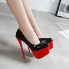 女鞋4142超高跟鞋16cm細跟恨天高大碼偽娘變裝情趣男士反串高跟鞋【全館免運】