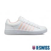 K-SWISS Court Winston時尚運動鞋-女-白/粉紅