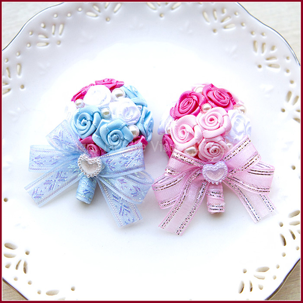 實用小捧花造型「磁鐵」(2色可挑.附袋)-姊妹探房禮/抽獎/送客禮/手工婚禮小物/幸福朵朵
