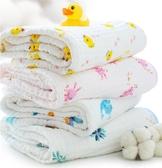 嬰兒浴巾純棉吸水洗澡紗布被巾嬰兒用品【奇趣小屋】