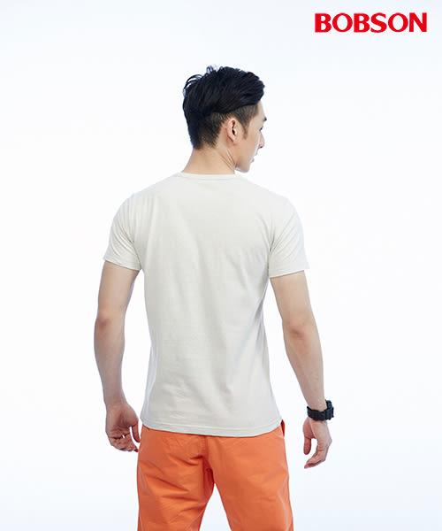 BOBSON  男款五彩顆粒布上衣(25028-72)