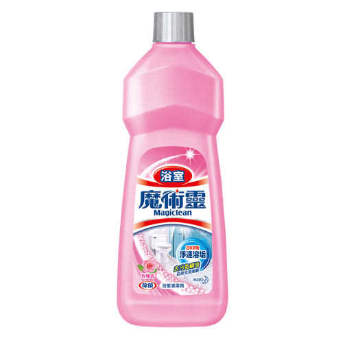 魔術靈 浴室清潔劑 經濟瓶玫瑰香 500ML【花王旗艦館】